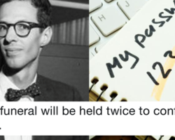 The inventor of the computer password died and these 9 responses are worth logging in for