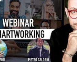 SmartWorking e risvolti psicologici e giuridici con Anna Pisterzi e Pietro Calorio